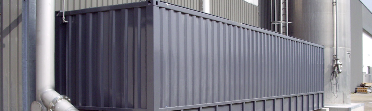 Stahlcontainer bis 5000